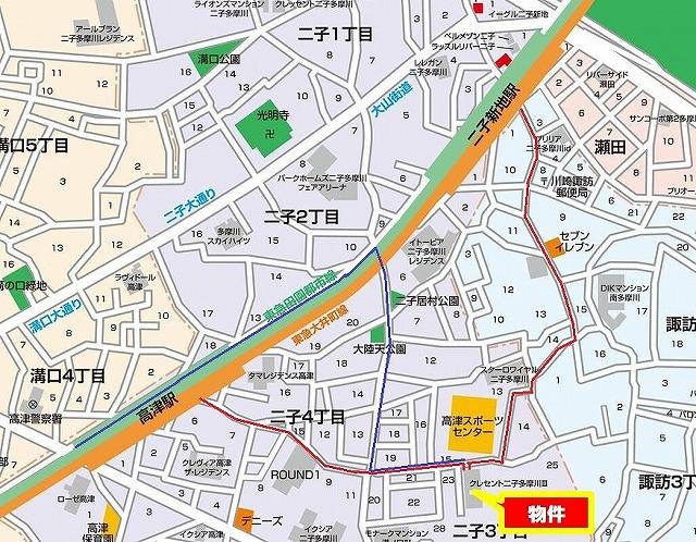マップ1・通路つき